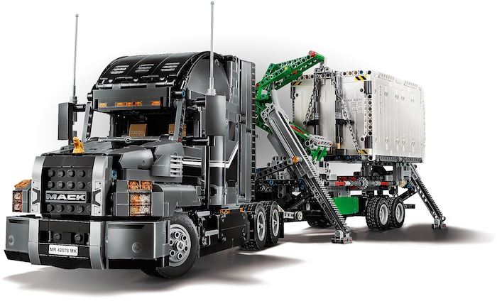 LEGO Technic Mack Anthem: Test del modello alternativo Mack LR