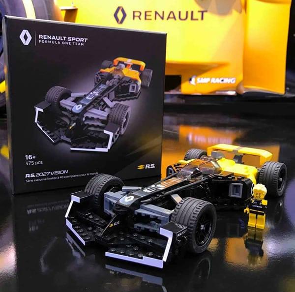 Renault Sport Formula One Team Et Lego France Se: LEGO Renault Sport Formula One Team: In Arrivo I Set Da