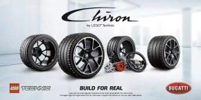 LEGO Bugatti Chiron: prezzo e data di uscita del set LEGO Technic 42083
