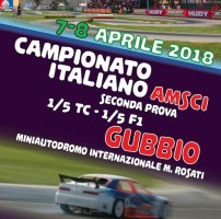 AMSCI Seconda prova Campionato Italiano 2018 TC e F1 in scala 1/5