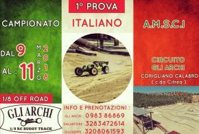 AMSCI - Prima prova Campionato Italiano Buggy 2018