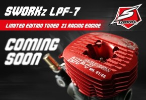 SWORKz LPF7 Limited Edition: motore .21 per automodelli Off Road