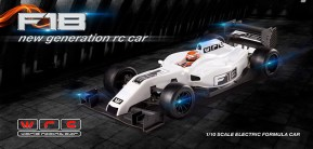 WRC Racing F18 Formulino in scala 1/10