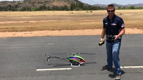 Fun Fly: Prototipo ALIGN Trex 600XN con Alan Szabo Jr