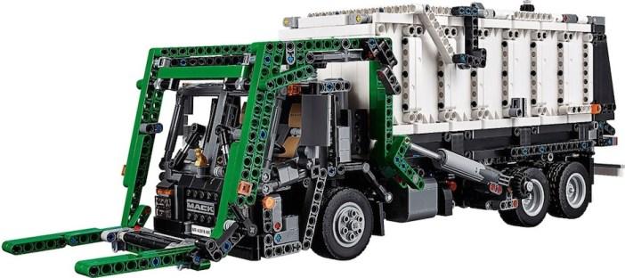 LEGO Technic Mack Anthem: Test del modello alternativo Mack LR