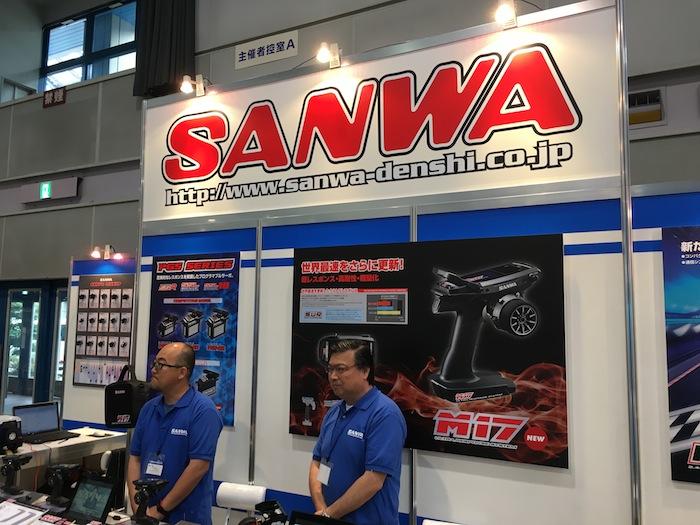 Stand della Sanwa allo Shizuoka Hobby Show