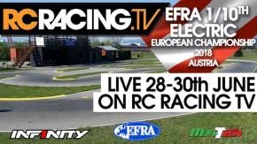 EFRA 1/10th Electric Euros 2018: le finali in diretta!