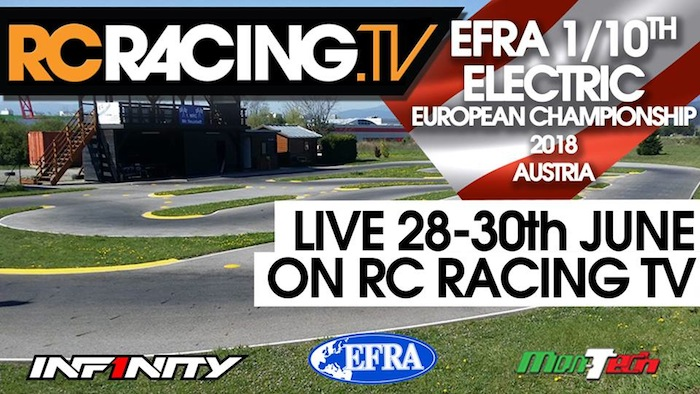 EFRA 1/10th Electric Euros 2018