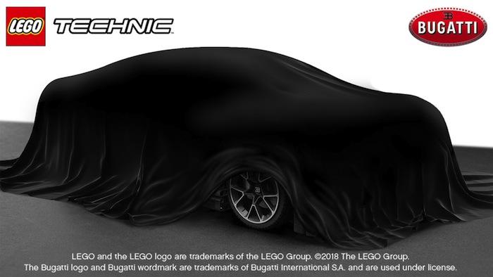 LEGO Technic Bugatti Chiron Launch Event dalla LEGO HOUSE