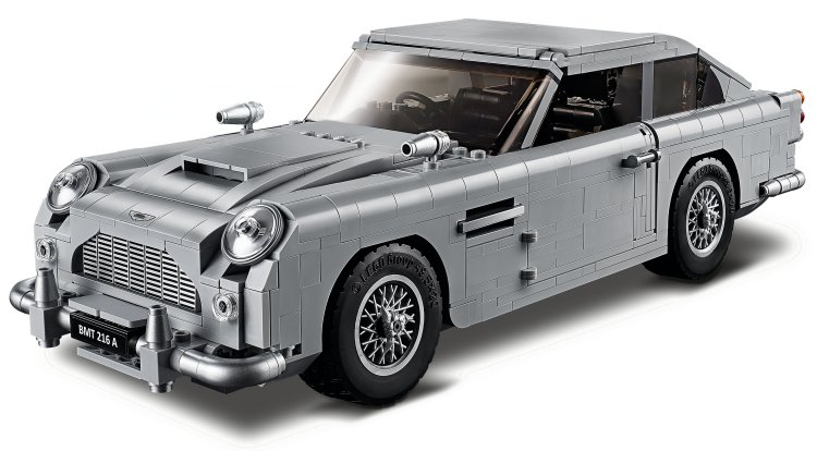 LEGO Creator Expert: Aston Martin DB5 di James Bond