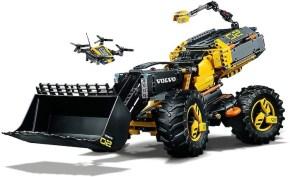 LEGO: Volvo Concept Wheel Loader ZEUX -  Ruspa gommata Technic 42081