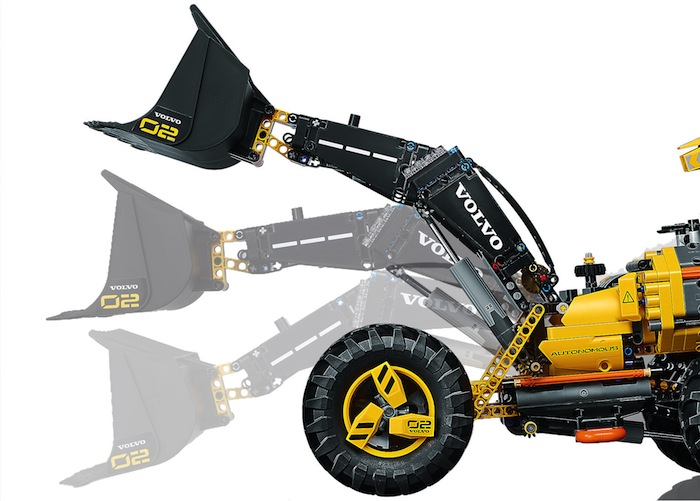 LEGO: Volvo Concept Wheel Loader ZEUX - Technic 42081
