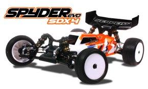 Serpent Spyder SDX4 EVO - buggy 4WD in scala 1/10