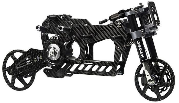 telaio XRider Scorpio: moto RC in scala 1/5 - Asiatees