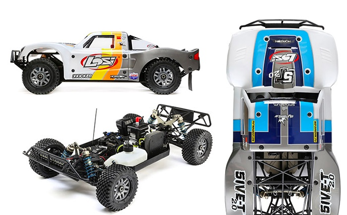 Losi 5IVE-T 2.0 - 4WD Short course truck in scala 1/5
