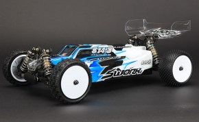 SWorkz S14-3 Pro Kit 4WD Buggy in scala 1/10
