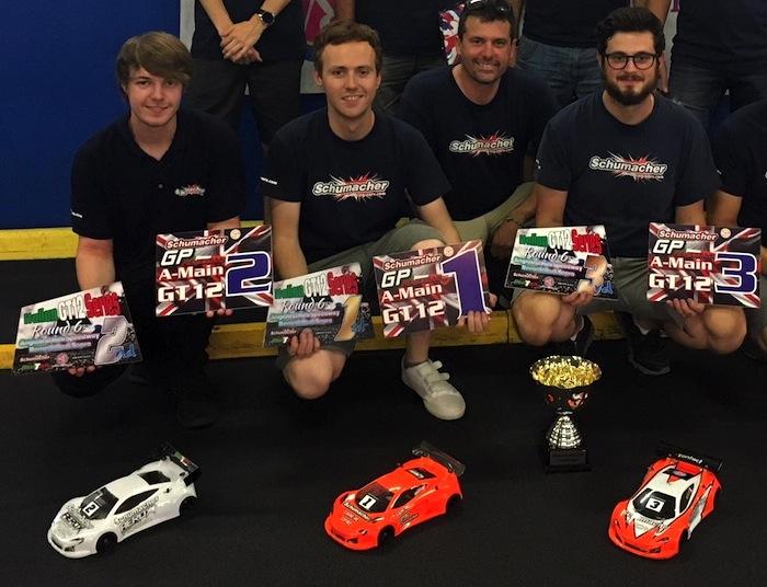 Schumacher GP Italia 2018 Podio GT12g