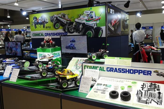 Tokyo Hobby Show 2018: Tamiya Comical Grasshopper