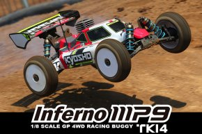 Video della nuova Kyosho inferno MP9 TKI4 Readyset