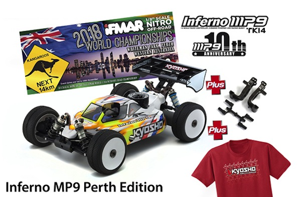 kyosho buggy mp9 perth edition
