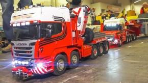Intermodellbau Dortmund: Camion radiocomandati