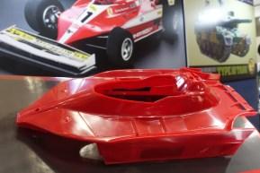 Tamiya Ferrari 312T3 con telaio F104W