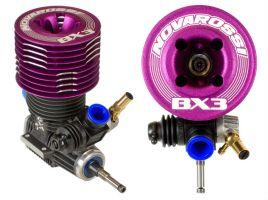 Novarossi BX3: nuovo motore a corsa corta per buggy 1/8