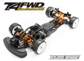 Zero Tribe: Kit di conversione FWD per XRAY T4