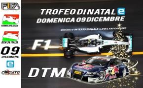 Prima Edizione Trofeo di Natale EPower F1 e DTM