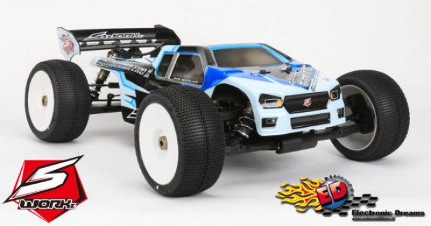 Electronic Dreams SWorkz: S35 TE 1/8 Off-Road Pro EP Truggy Kit