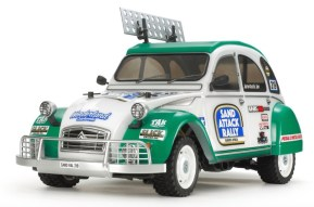 Tamiya Citroen 2CV Rally su telaio M-05RA