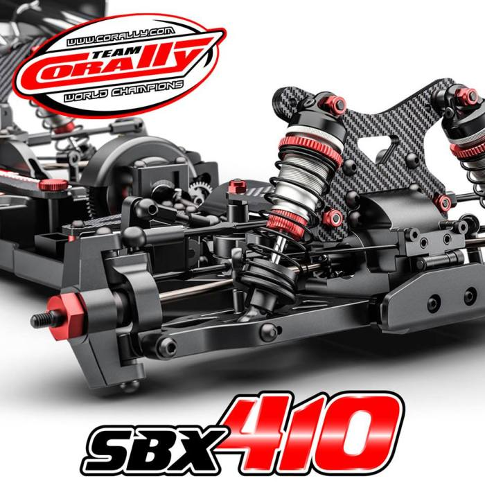 Team Corally chassis SBX-410 4WD Buggy