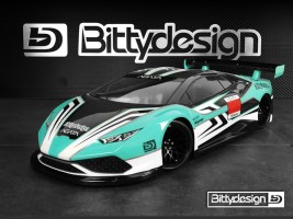 Bittydesign: Carrozzeria 1/10 GT AGATA 190mm