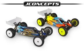 JConcepts S2 e F2: Carrozzerie per Buggy TLR 22 5.0