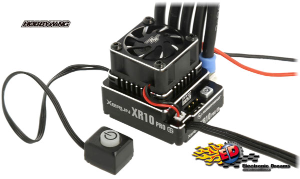 Hobbywing: Xerun XR10 Pro Generation 2 - Regolatore brushless 160A