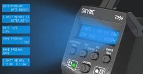 SKYRC: Caricabatterie 2 x 100W T200 AC/DC 12A
