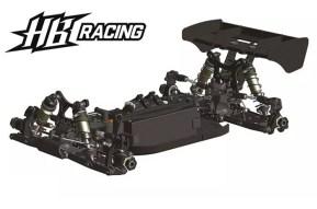 HB Racing E819 ebuggy: Kit da competizione 1/8