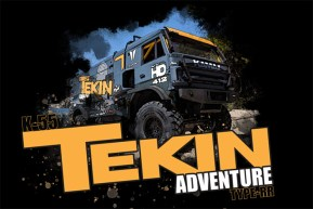 Team Tekin: K-55 Dakar custom Truck - VIDEO