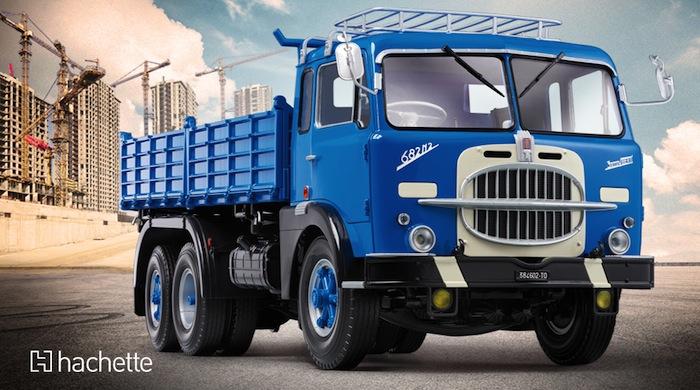 Hachette: Costruisci il Camion FIAT 682 - Raccolta a fascicoli in edicola!