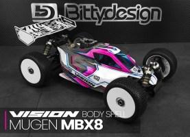 Bittydesign: carrozzeria Vision per Mugen MBX8