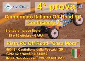 ACI: Campionato Italiano off-road 1/8 Nitro e Brushless
