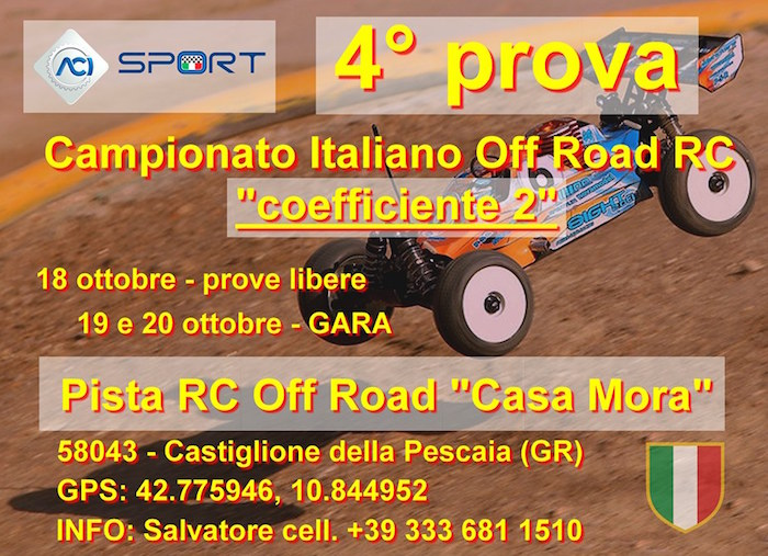 Campionato Italiano off road 1/8