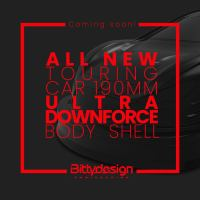BittyDesign: nuova carrozzeria Ultra Downforce 190mm