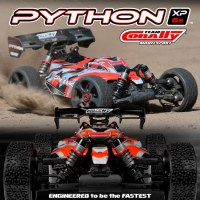Team Corally Python XP 6S: nuovo buggy brushless 1/8