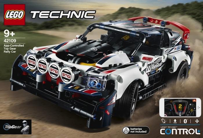 LEGO Technic: Top Gear Rally car - 42109