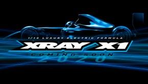 Xray: X1 2020 Formulino da competizione 1/10
