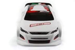Mon-Tech 308TCR FWD: carrozzeria Touring Car 1/10