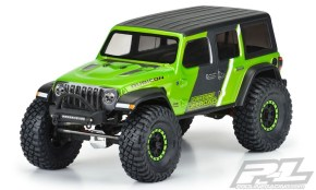 Pro-Line: Carrozzeria Jeep Wrangler JL Unlimited Rubicon