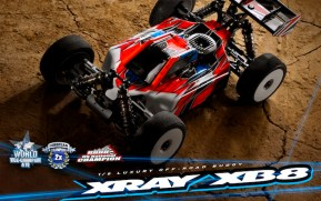Xray: XB8 2020 Nitro Buggy Kit in scala 1/8