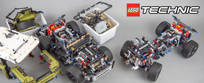 LEGO Technic: Guida di riparazione per il Land Rover Defender (42110)